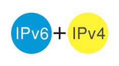 IPv4アドレス枯渇問題に対応次世代規格のIPv6が利用可能!